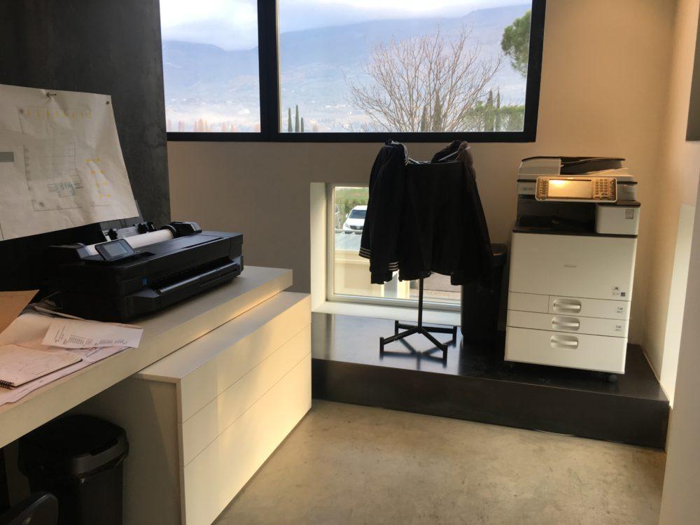Soluzioni ufficio tecnico with colore pareti ufficio - Pareti divisorie in vetro per interni casa prezzi ...